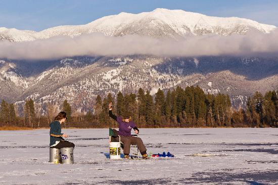 Ice Fishing Picture Of Kalispell Montana Tripadvisor
