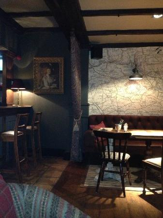 The Devonshire Arms: A seat at the end of the bar anyone?
