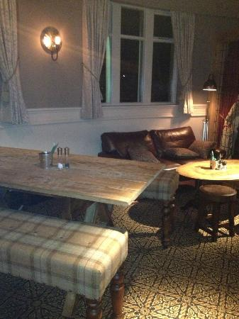 The Devonshire Arms: The Old Function Room - Mix of Table Styles