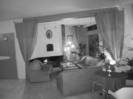 Hotel La Folie : Le salon