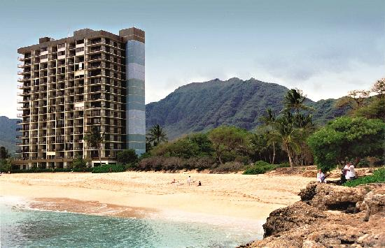 Hawaiian Princess Resort Hotel From Beach
