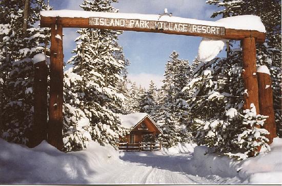 Timbers Condominiums at Island Park : Entrance