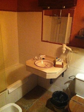 Alcazaba de Busquistar: baño