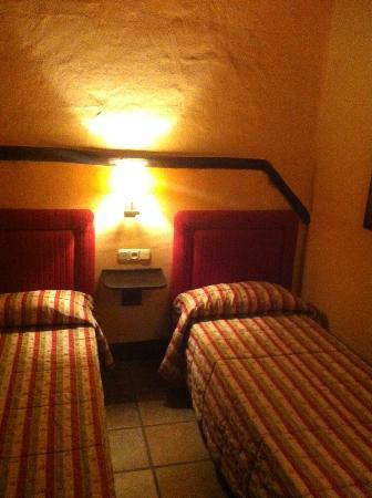 Alcazaba de Busquistar: dormitorio secundario