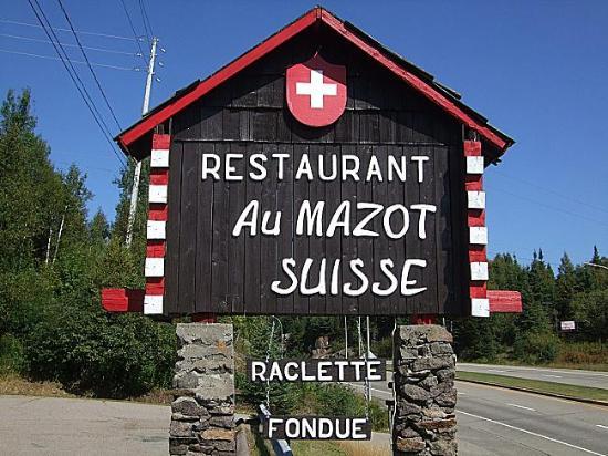 Restaurant Au Mazot Suisse Photo