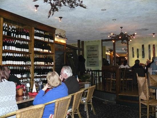 Das Weinhaus: Inside the restaurant