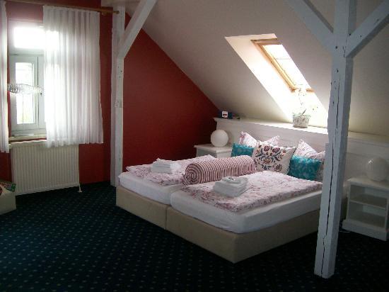 Villa Baltia: Zimmer unterm Dach