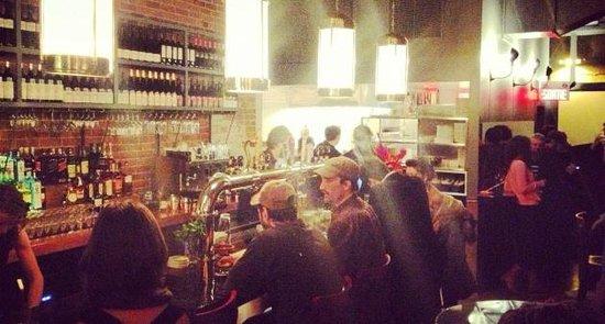 Enjoy delicious flambéed tapas at bureau bar in griffintown prével