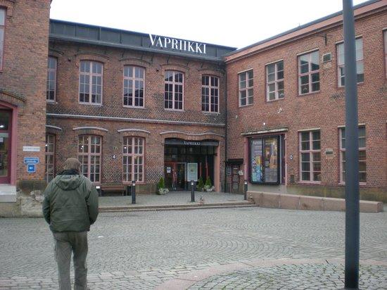 Vapriikin Museokeskus: внутренний дворик музейного комплекса Ваприикки