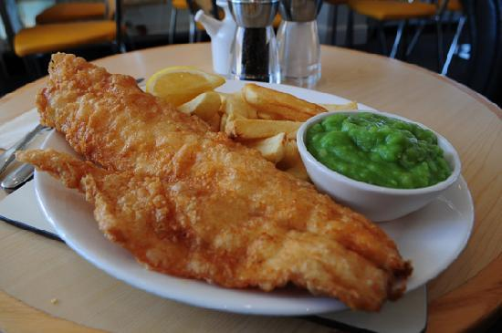 Fish And Chips Restaurant Exeter