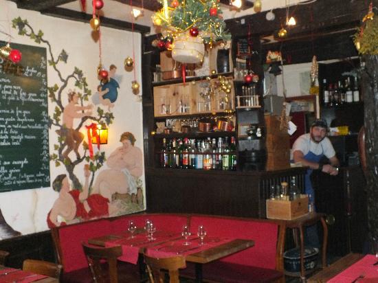 Au Cruchon: le restaurant