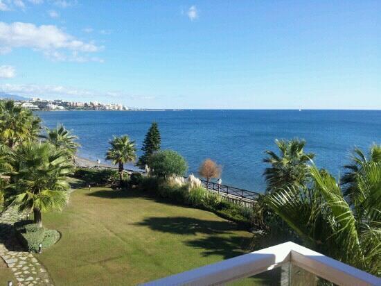 Gran Hotel Elba Estepona & Thalasso Spa : vista desde la suite