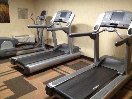 Courtyard Chicago Waukegan/Gurnee: Small fitness room with CV equipment