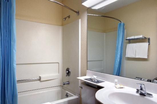 Americas Best Value Inn - East Syracuse: Guest Bathroom