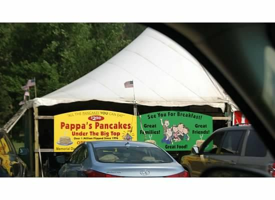 Lodge at Palmer Gulch: pancake tent