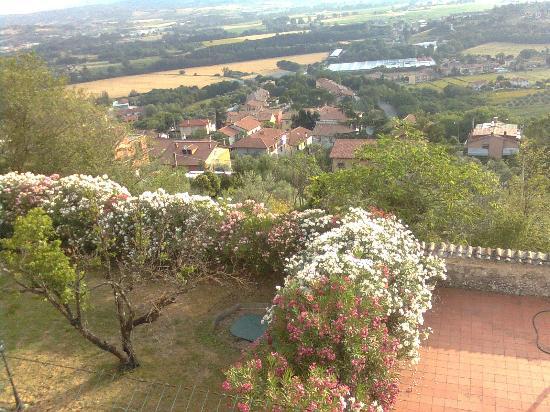 Albergo Il Minareto: Ausblick von der Terrasse