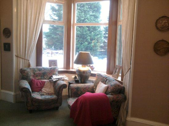 The Craigerne House Hotel: A comfy place to read
