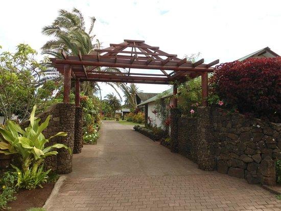 O'tai Hotel: entrada do Hotel