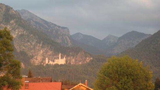 Hotel Helmerhof: View from balcony