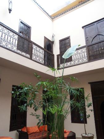 Riad Boussa: I fell in love with the architectural detail and character of the riad...