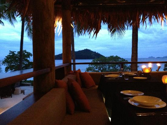 Likuliku Lagoon Resort: View from dinner