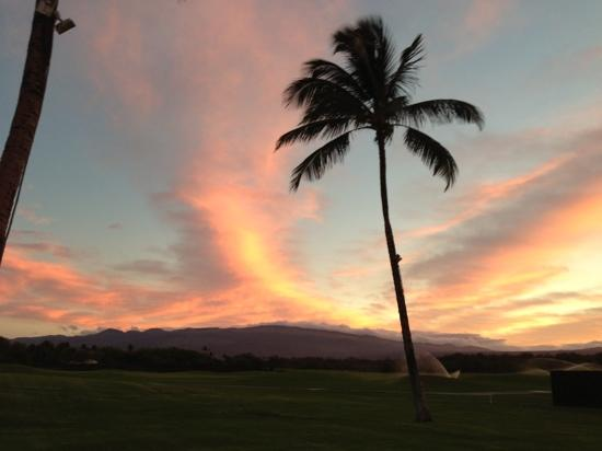 Fairmont Orchid, Hawaii: orchid sunrise