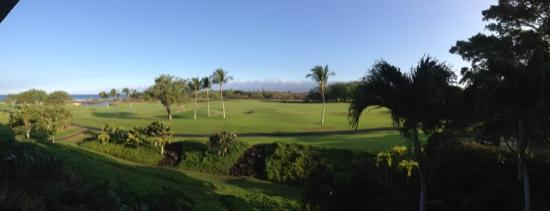 Fairmont Orchid, Hawaii: golf course from the room