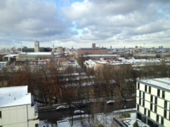 Motel One Munchen-Deutsches Museum: View from our room