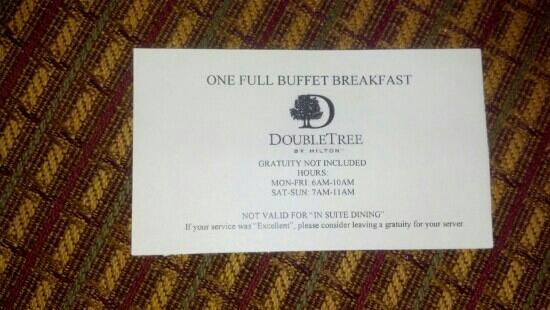 DoubleTree Suites by Hilton Hotel Nashville Airport: Thank you