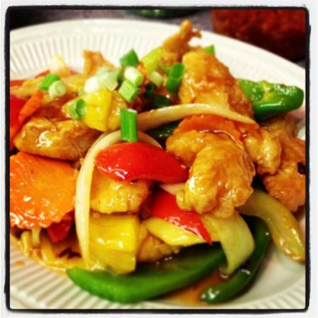 Thida's Thai: pad peow waan pla # 51.