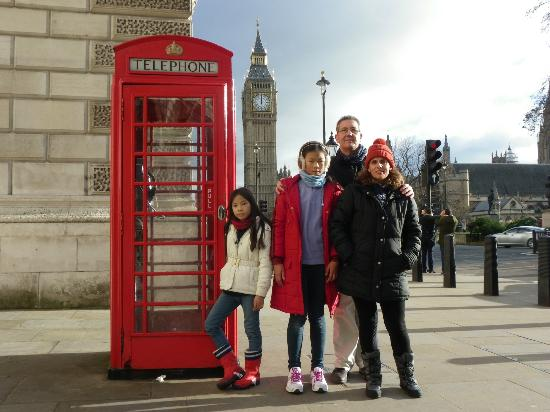 Premier Inn London Kensington (Olympia) Hotel: Big Ben