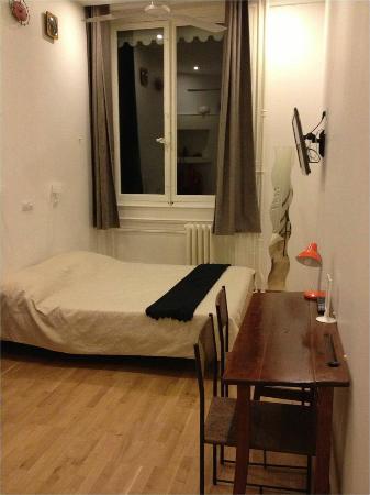 Le Boulevardier : chambre
