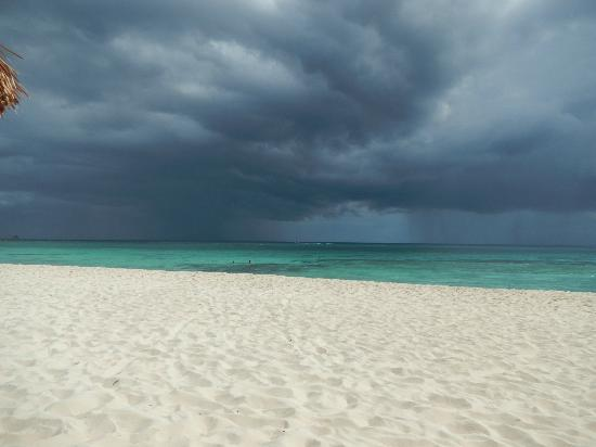 Grand Bahia Principe Tulum: Storm on the Ocean