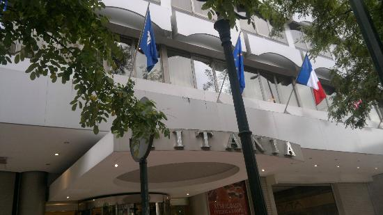 Titania Hotel: ingresso
