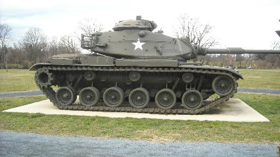 U.S. Army Heritage and Education Center: M60 Patton Main Battle Tank