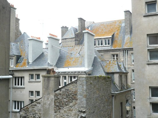 Hotel Anne de Bretagne : Это вид из окна