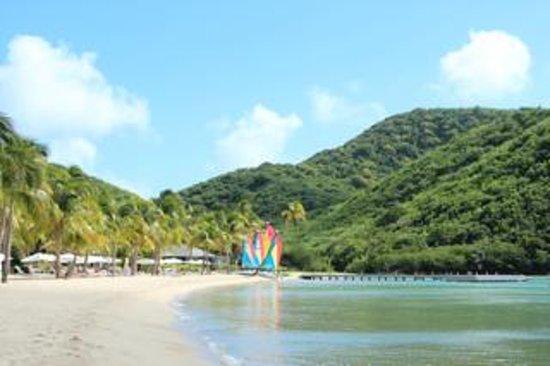 Carlisle Bay Antigua: Пляж