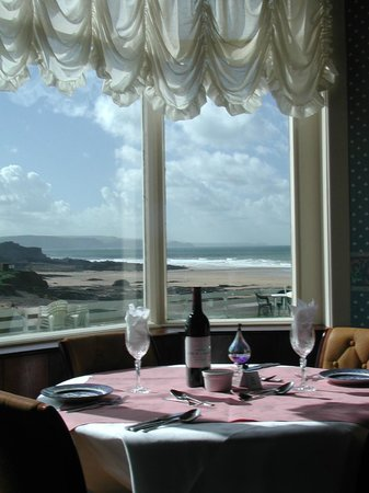 The Hotel Penarvor: Table for two with a view