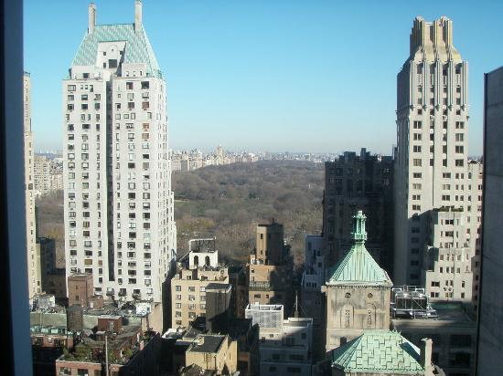 Le Parker Meridien New York: View toward Central Park from Tower Room 