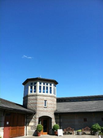 The famous Tower Room at Adelsheim Vineyard