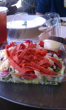 La Grande Orange Grocery: Pizzeria Chop Salad  $8.25