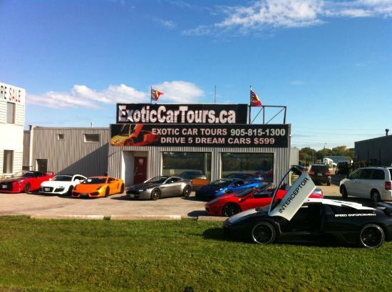 Groupon Race Car Driving Toronto