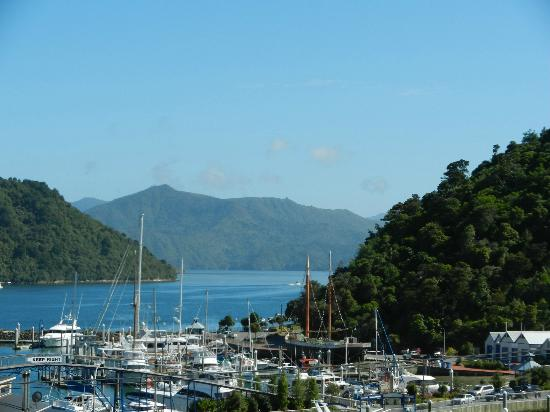 Harbour View Motel Picton: Lovely view from our room