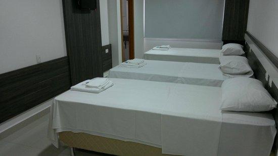 San Lucas Hotel: Suites com camas Box de solteiro e casal