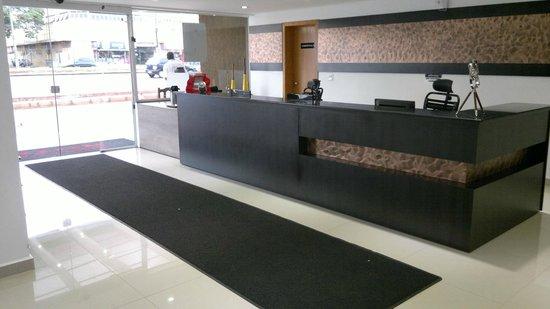 San Lucas Hotel: Nova recepção mais ampla e moderna