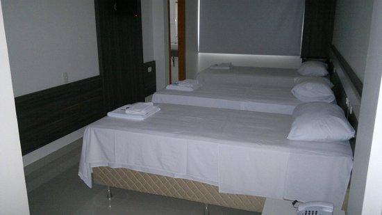 San Lucas Hotel: Suites com até 8 camas individuais
