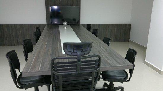 San Lucas Hotel: Sala de reuniões