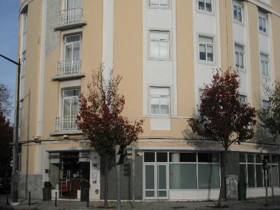 Hotel Princesa Lisboa Centro: Entrada hotel