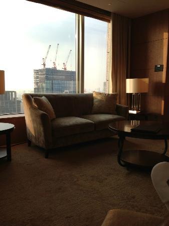 Shangri-La Hotel, Tokyo: リビング