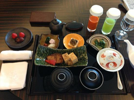 Shangri-La Hotel, Tokyo: 朝食